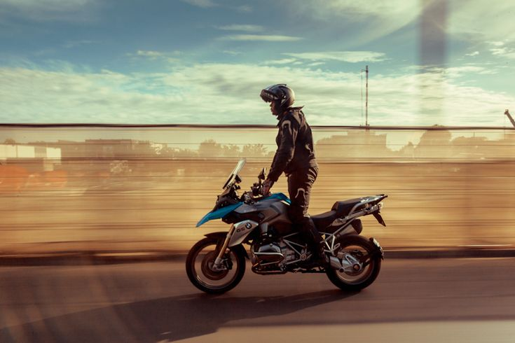 Urban riding...