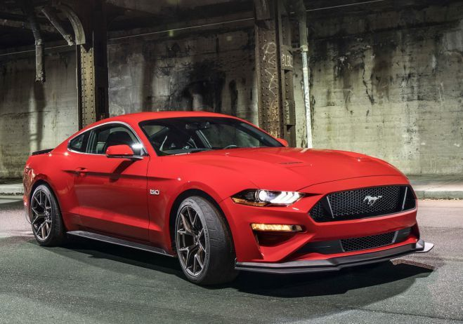 2018 Ford Mustang Gt Performance Pack Level 2 Engine S Capacity Is