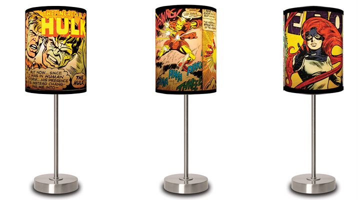 Marvel Comics Table Lamps Illuminate Panels of Your Favorite Heroes - ComicsAlliance | Comic book culture, news, humor, commentary, and reviews