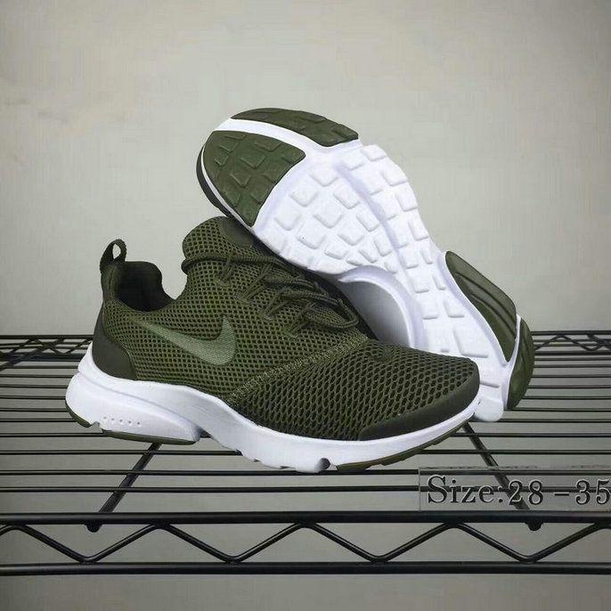 003b3f71bcae2 Really Cheap Nike Presto Fly Big Kids Shoe Green White
