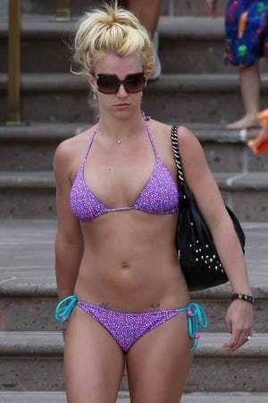 spears bikini Britney in a