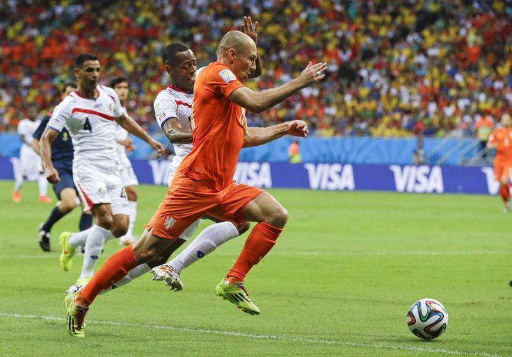 Het Nederlands elftal heeft de halve finale ...