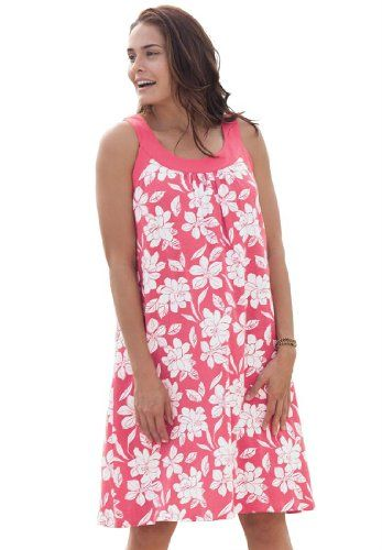 Woman Within Plus Size Petite dress for summer in soft jersey $7.88 #topseller