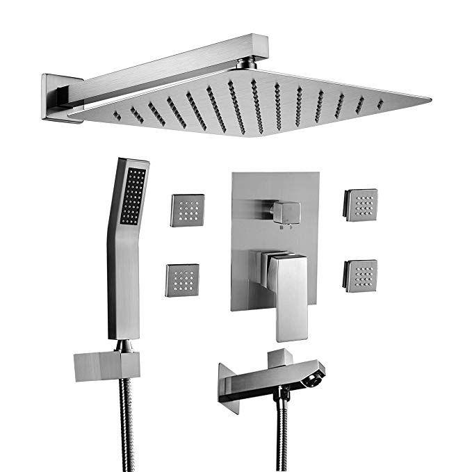 Acefy ATF18003 Shower Tub Faucet Set