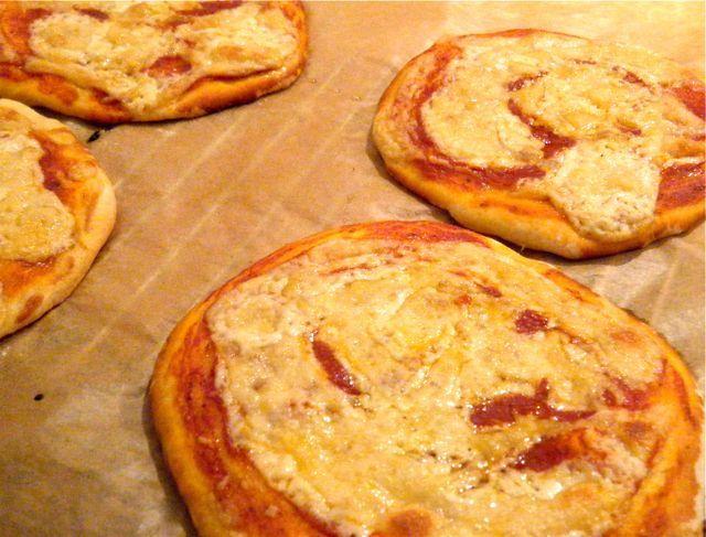 Mini-Pizza à la Margarita