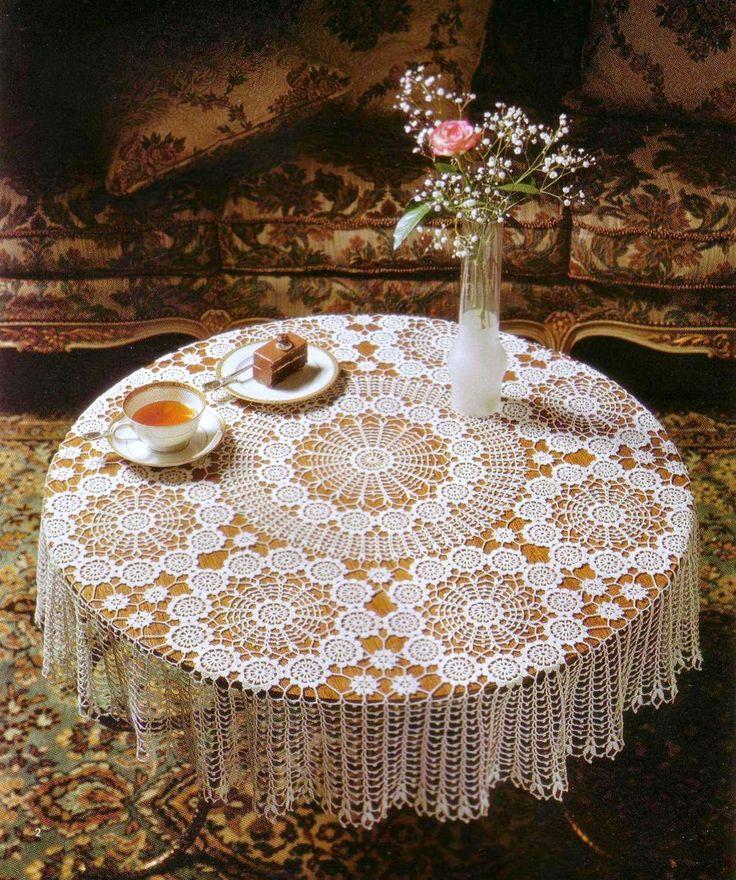 Essa toalha de mesa é um escândalo de linda!                                       grafico 1        ...