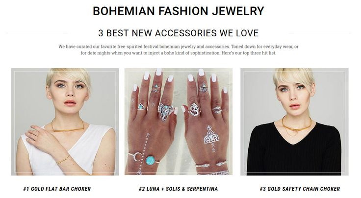 Choose choose from a wide range of free-spirited festival bohemian jewelry and accessories.  https://www.bohocharms.com