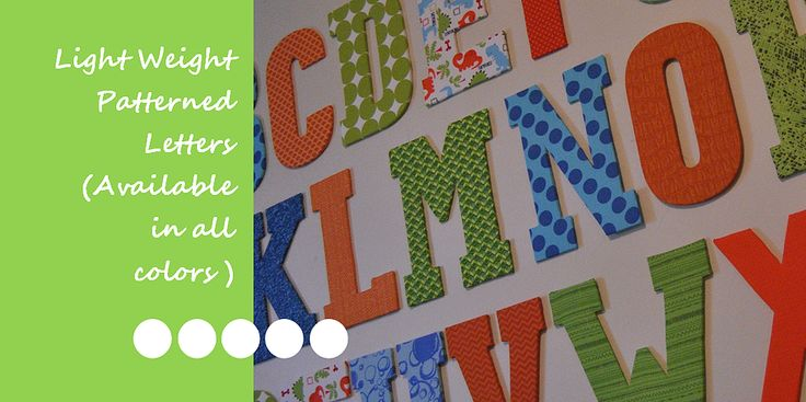 fabric covered letters nursery pinterest decor letters and
