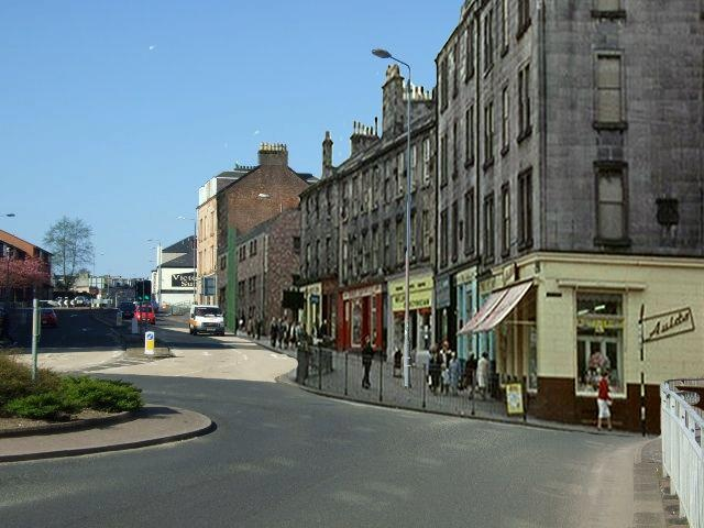 Who Remembers Old Inverkip Street in Greenock? Click on the Photo to take part in our conversation...