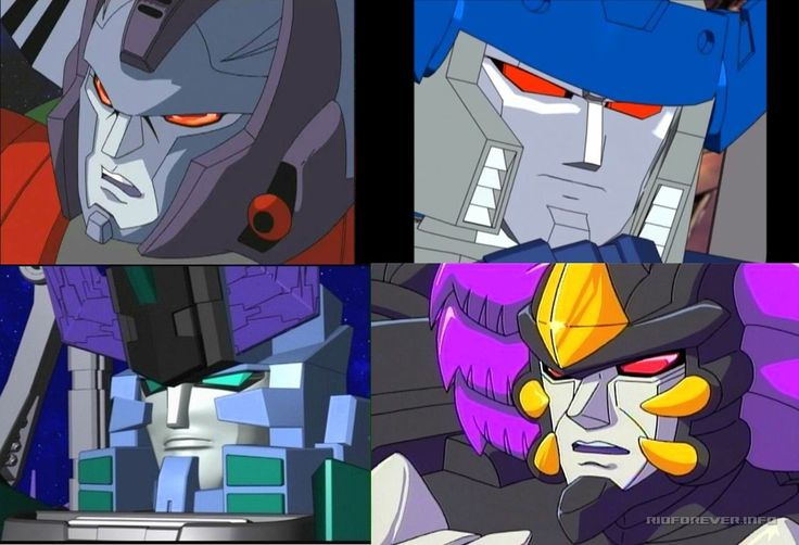 Transformers Unicron Trilogy Megatron: - Transformers Armada 1 - Transformers Energon 2 - Transformers Cybertron 3 - Transformers Robots In Disguise 4