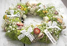 Floral vintage wreath