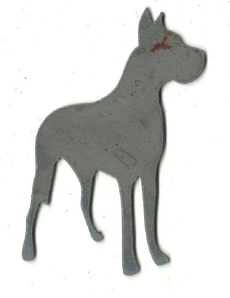 Great Dane Dog - Plasma Cut Metal Shape DOG29-M