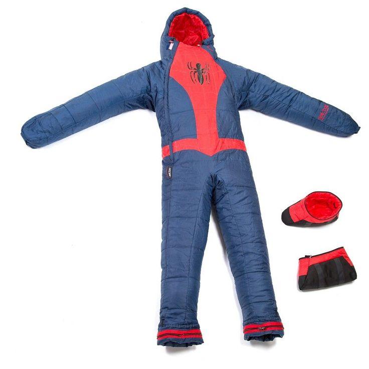 Marvel Kids by Selk'bag Spiderman Sleeping Bag -