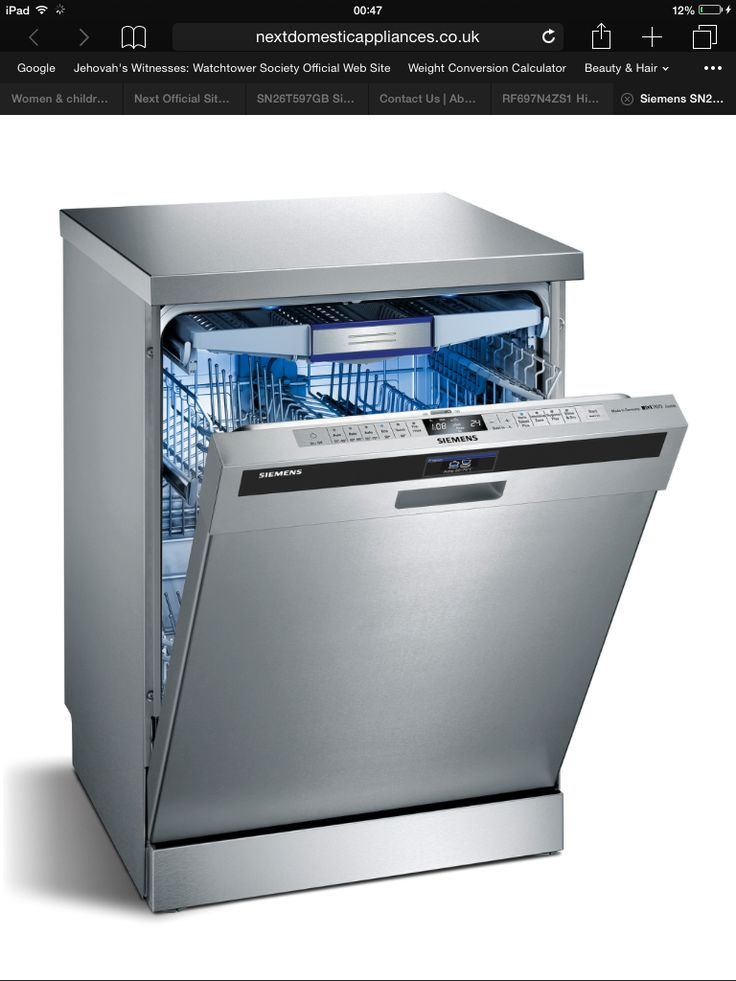 17 Best ideas about Siemens Dishwasher on Pinterest
