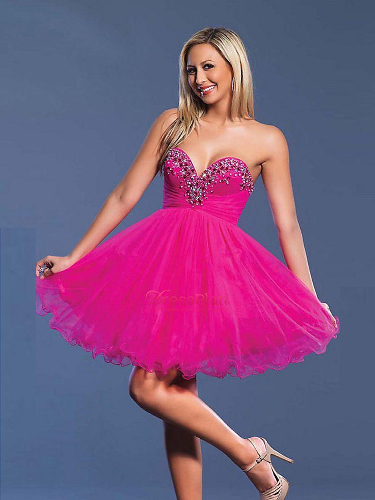Atractivo Vestido De Color Rosa Y Azul Baile De Graduación Regalo ...