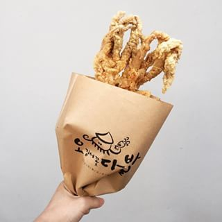 Fried Squid / Ojingeo Twigim (오징어 튀김) | 15 Magical Korean Street Foods You Need To Try