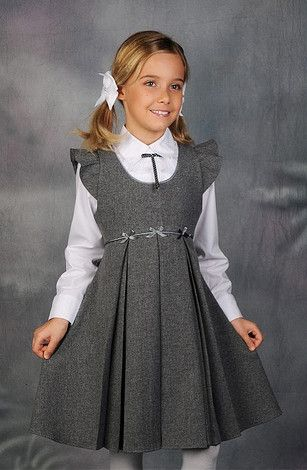 Школьная форма сарафан платье