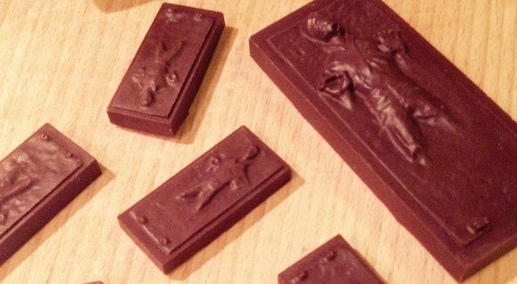 DIY Star Wars Han Solo Carbonite Chocolate - SZMK
