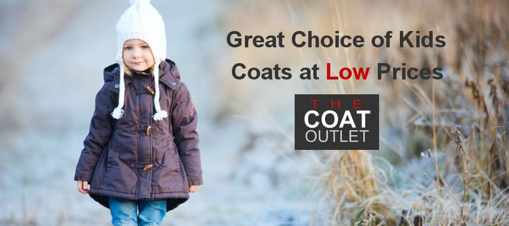 Big Choice of Kids Coats at The Coat Outlet