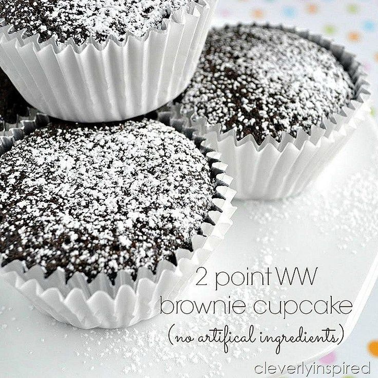 2 point dessert brownie cupcake @cleverlyinspired (6)