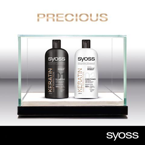 Ονειρεύεστε τα τέλεια μαλλιά; Αποκτήστε τα με μια πολύτιμη φροντίδα ομορφιάς #Syoss που θα τους χαρίσει επανόρθωση, απαλότητα & εντυπωσιακή λάμψη: http://goo.gl/0lTBv5.