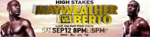 Showtime Sports to stream Floyd Mayweather & Andre Berto media workouts.  http://www.blueprintboxing.com/floyd-mayweather-andre-berto-media-workouts/ #boxing #boxeo #bpb #blueprintboxing #tmt #mayweatherberto #shosports