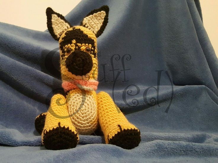 Model 1 - Must Have  German Shepherd customized to a friend