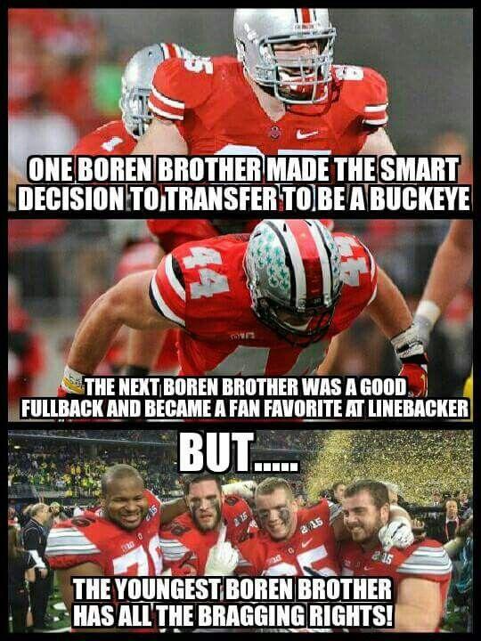 Boren Brothers ☆the Ohio State Buckeyes☆ Pinterest