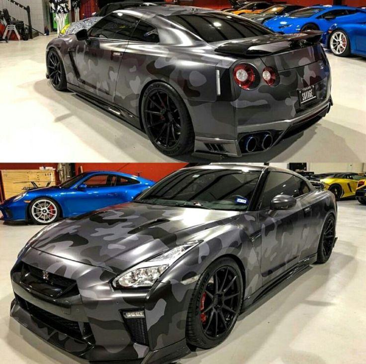 Black Camo Nissan GT-R Z_litwhips