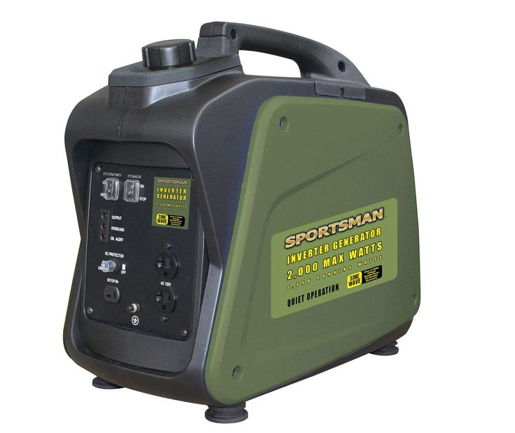 Small 2000W Inverter Generator Camping Compact Portable Tailgate Lightweight NEW