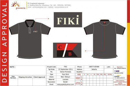 http://www.konveksi-jakarta.com/ Poloshirt FIKI