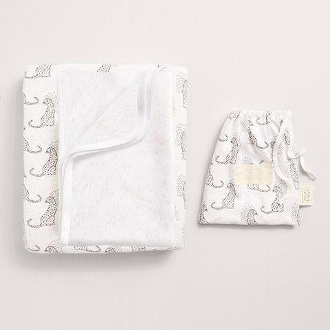 Little leopard Bassinet sheet set. Now on sale $29.95.