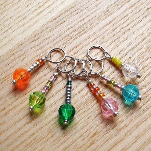 Using Stitch Markers In Lace Knitting : Knitting Stitch Markers ?4.00 Stitch markers Pinterest