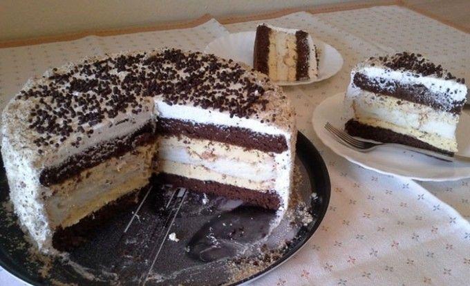 Slavnostní krémový dort s bílou čokoládu | NejRecept.cz