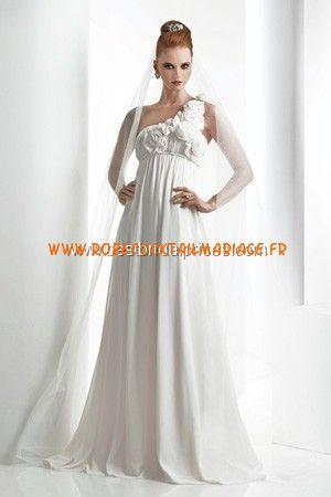 Bari Jay White Robe de Mariée - Style 2010