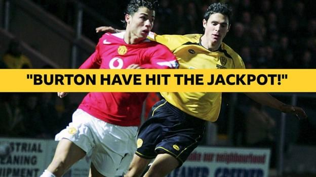 When Cristiano Ronaldo's Manchester United could not beat Burton Albion https://link.crwd.fr/4EjL
