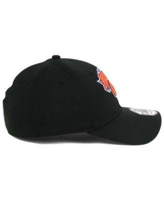 New Era New York Knicks Team Classic 39THIRTY Cap - Black L/XL