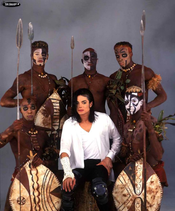 Michael Jackson during the shooting of his short film for 'Black or White.'