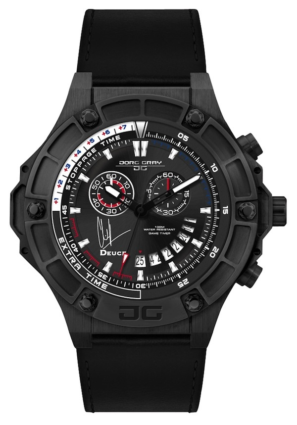 The Jorg Gray Clint Dempsey Limited Edition Game Timer Watch + Interview £635