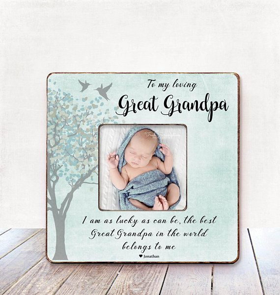 Granda and Me photo frame personalised Birthday Christmas Fathers Day gift