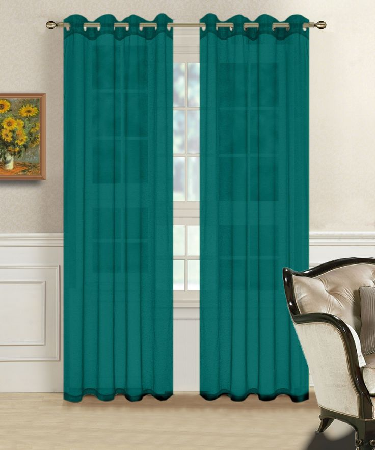 Best 25 Teal Curtains Ideas On Pinterest Window Curtains Curtains For Bedroom And Curtain