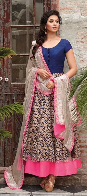 For Friend's wedding party a perfect anarkali.