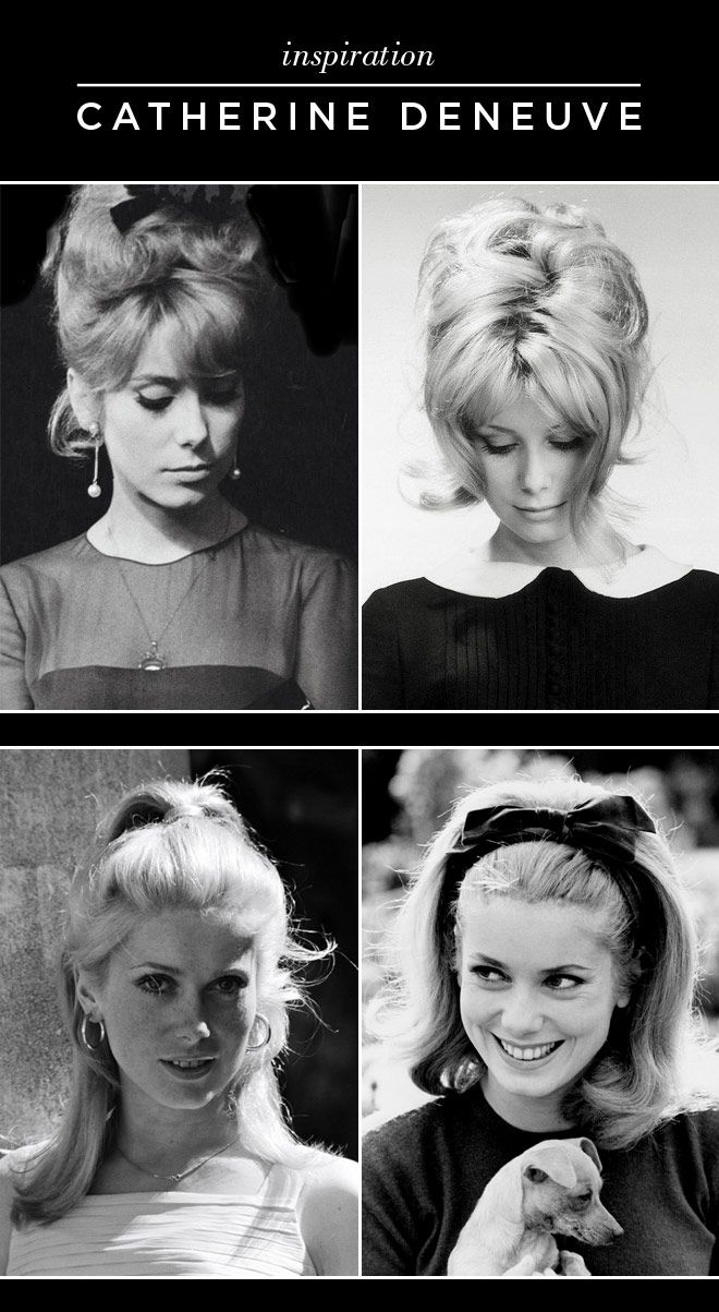 She Lets Her Hair Down: Inspiration :: Catherine Deneuve