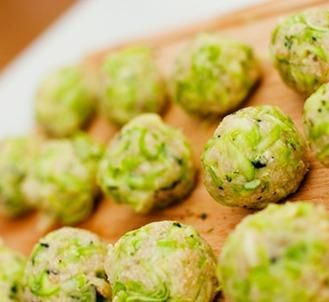 Орехово-огуречные шарики