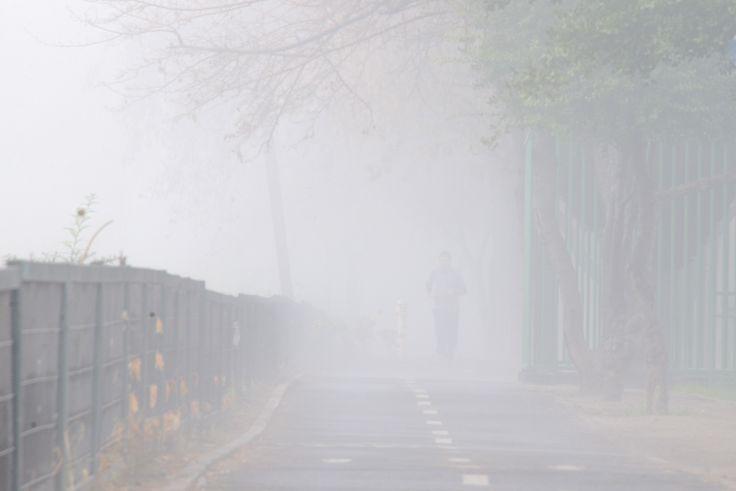 día de mucha niebla