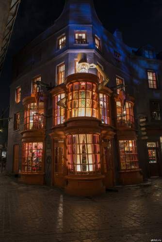 Знаменитый Косой переулок из «Гарри Поттера» воссоздали в реальности - 9 Июля 2014 - GKH11.RU