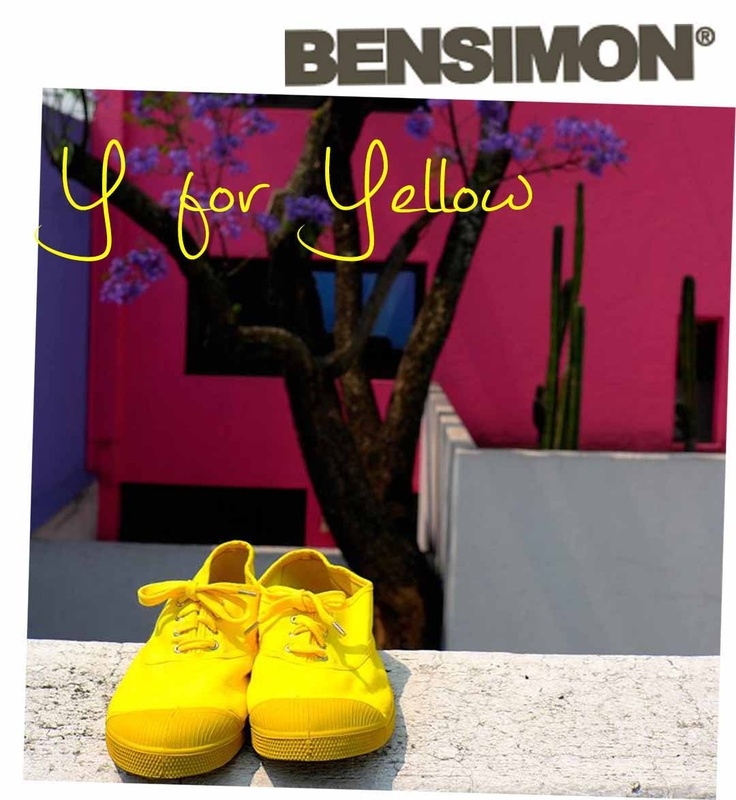 Colour of the day : YELLOW!