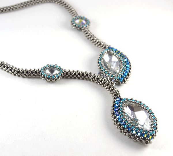 Liisa Turunen Designs - Siamese Marquis Necklace Silver