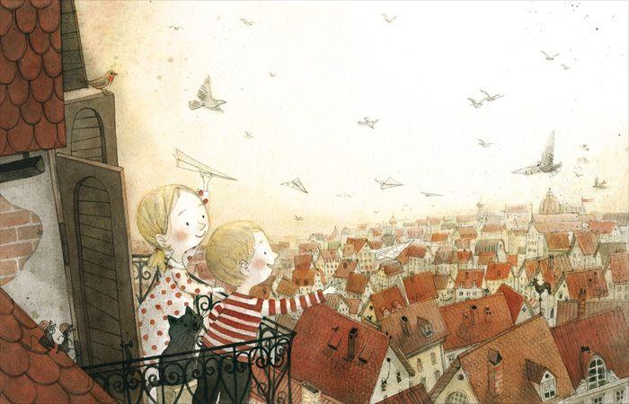 25 spraakmakende idee n over huis illustratie op pinterest gesneden papier gesneden papier - Behang ingang gang ...