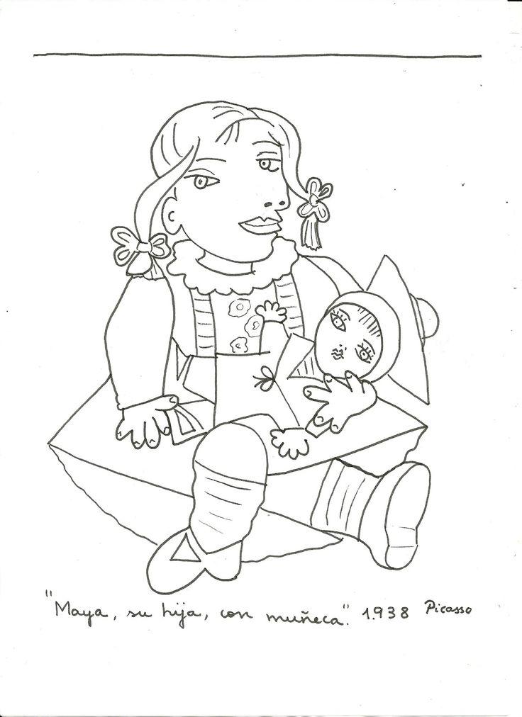 Picasso - Maya con su muñeca